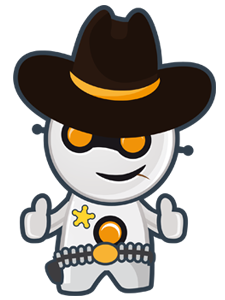 WizEmail's Sheriff will guide you through the land of honest testimonials